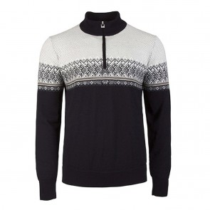 Dale of Norway Hovden Masc Sweater L Black / Light charcoal / Smoke / Beige / Off white-20