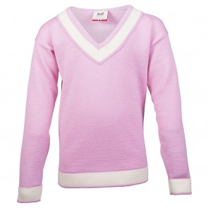 Dale of Norway Morgedal Kids Sweater Pink candy/ off white-20