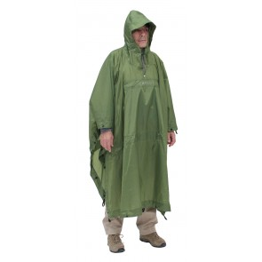 Exped Bivy-Poncho green-20