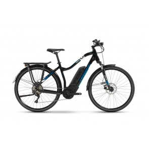 Haibike SDURO Trekking 3.0 Damen 500Wh 10G Deore 20 HB BPI black/white/blue-20