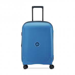 Delsey Belmont Plus 4 Double Wheels Slim Cabin Trolley 55 CM Zink Blue-20