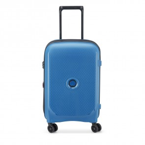 Delsey Belmont Plus 4 Double Wheels Expandable Cabin Trolley 55 CM Zink Blue-20