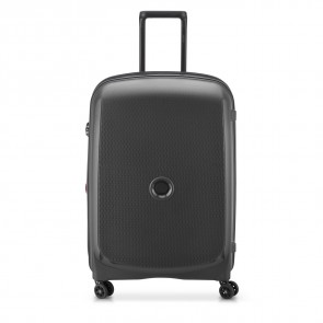 Delsey Belmont Plus 4 Double Wheels Expandable Trolley 71 CM Black-20