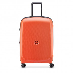 Delsey Belmont Plus 4 Double Wheels Expandable Trolley 71 CM Orange-20