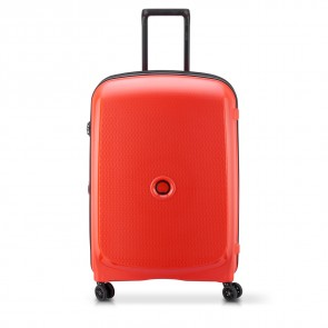 Delsey Belmont Plus 4 Double Wheels Expandable Trolley 71 CM Faded Red-20