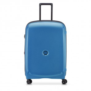 Delsey Belmont Plus 4 Double Wheels Expandable Trolley 71 CM Zink Blue-20