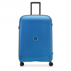 Delsey Belmont Plus 4 Double Wheels Trolley 71 CM Zink Blue-20