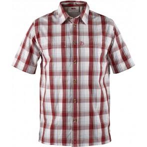 FjallRaven Gunnar Shirt Deep Red-20