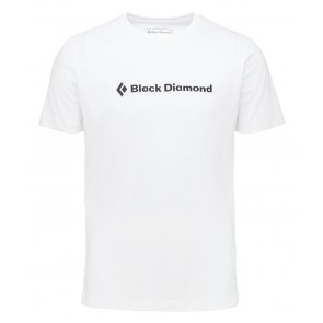 Black Diamond M Ss Brand Tee White-20