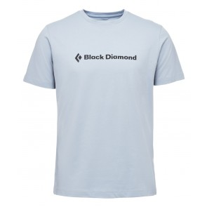 Black Diamond M Ss Brand Tee Stone Blue-20