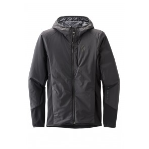 Black Diamond W First Light Hybrid Hoody Smoke-20
