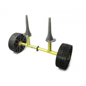 Sea To Summit Sit-on-Top Cart solid wheels Green-20