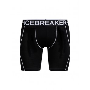 Icebreaker Mens Anatomica Zone Long Boxers Black-20