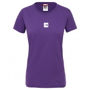 The North Face Women's Fine T-Shirt HERO PURPLE-20