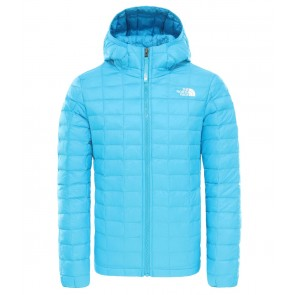 The North Face Girls ThermoBall Eco Jacket ACOUSTIC BLUE-20