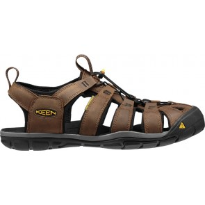 Keen Clearwater Cnx Leather M Dark Earth/Black-20