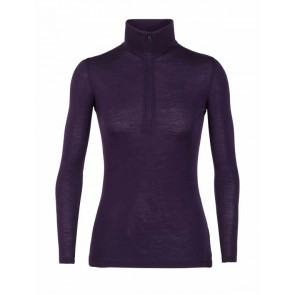 Icebreaker Wmns 175 Everyday LS Half Zip M Lotus-20