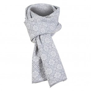 Dale of Norway Sonja Scarf Light grey mel. / off white mel.-20