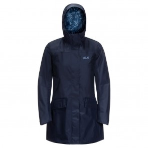 Jack Wolfskin Cape York Coat W midnight blue-20