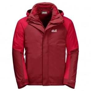 Jack Wolfskin Steting Peak Jacket M dark lacquer red-20