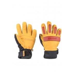 Marmot Men's Tahoe Undercuff Glove Tan/Dark Rust-20