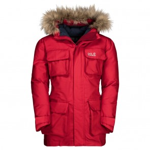 Jack Wolfskin Ice Explorer Jacket Kids red lacquer-20