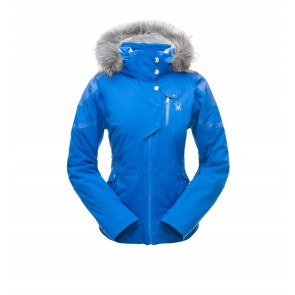 Spyder Meribel Faux Fur Jacket 482 Turkish Sea/Turkish Sea-20