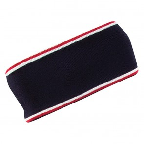 Dale of Norway Flagg Headband Navy / Raspberry / Off White-20