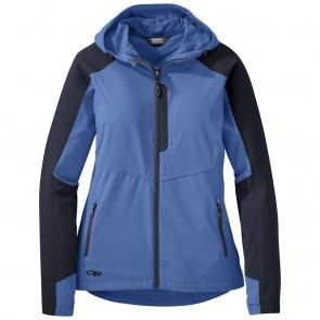 Outdoor Research Women's Ferrosi Hooded Jacket lapis/naval blue-20