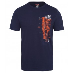 The North Face Men's Celebration T-Shirt MONTAGUE BLUE-20