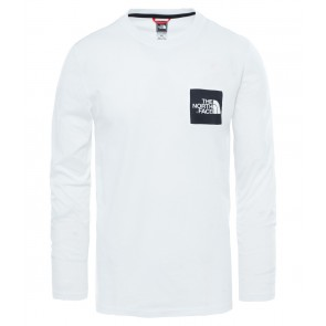 The North Face Men's Fine Long-Sleeve T-Shirt TNF WHITE-20
