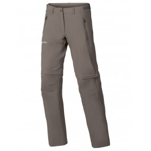 VAUDE Women's Farley Stretch ZO T-Zip Pants coconut-20