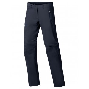 VAUDE Women's Farley Stretch ZO T-Zip Pants eclipse-20