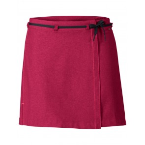 VAUDE Women's Tremalzo Skirt II crimson red-20