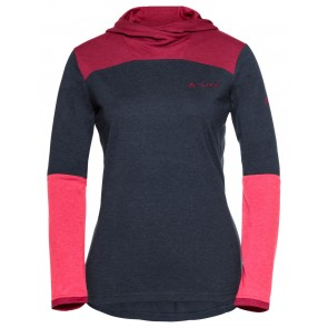 VAUDE Women's Tremalzo LS Shirt eclipse/pink-20
