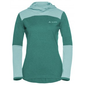 VAUDE Women's Tremalzo LS Shirt nickel green-20