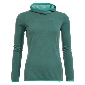 VAUDE Women's Miskanti LS T-Shirt nickel green-20
