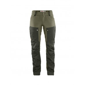 FjallRaven Keb Trousers Curved W Short 34 Deep Forest-Laurel Green-20