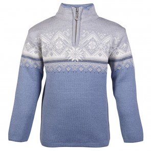 Dale of Norway Moritz Kids Sweater Blue shadow/ Grey/ Schiefer / Off white-20