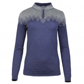 Dale of Norway Snefrid Fem Sweater Electric storm / Smoke-20