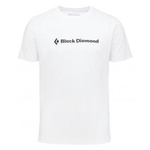 Black Diamond M Ss Brand Tee White-20
