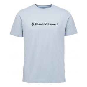 Black Diamond M Ss Brand Tee Stone Blue-20