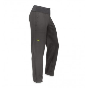 Outdoor Research Men's Radiant Hybrid Tights Charcoal/Lemongrass-20