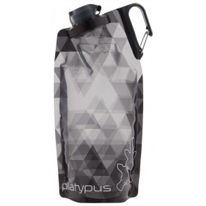 Platypus DuoLock Bottle 1L Gray Prisms-20