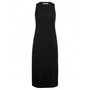 Icebreaker Wmns Yanni Tank Midi Dress M Black-20