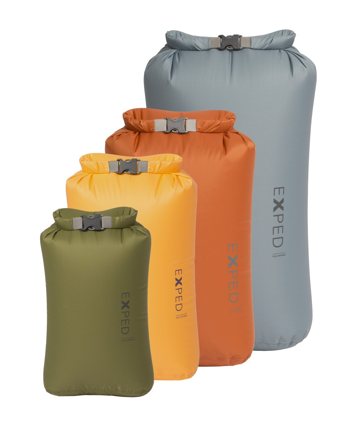 Exped Fold Drybag XS-L STD 4 Pack
