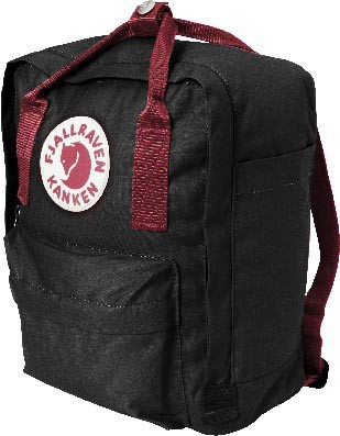 98f9295b0 FjallRaven Kanken Mini Black-Ox Red - au