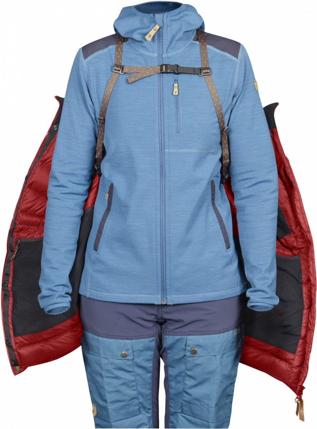 FjallRaven Keb Expedition Down Jacket W Lava us