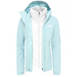 The North Face Women's Synthetic Insulated Zip-In Triclimate Jacket WINDMILL BLUE-20