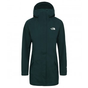The North Face Women's All Terrain Zip-In Jacket PONDEROSA GREEN-20